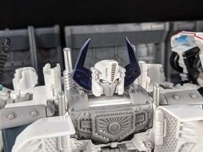 TF Combiner Wars Prime Upgrade Horns in White Natural Versatile Plastic