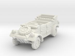 Kubelwagen (open) 1/100 in White Natural Versatile Plastic