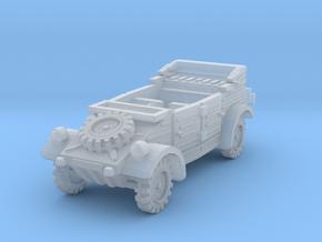 Kubelwagen (open) 1/160 in Smooth Fine Detail Plastic