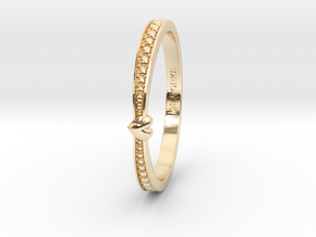 Heart Ring in 14K Yellow Gold: 6 / 51.5