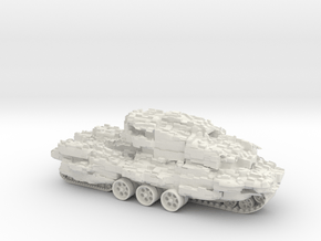 """Traction city """"Wattbrugge"""" - My Mortal Engines in White Natural Versatile Plastic"""