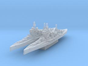 HMS Warspite (Axis & Allies) in Smooth Fine Detail Plastic