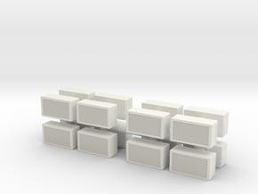 Window AC Unit (x16) 1/87 in White Natural Versatile Plastic