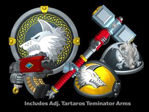 Sven: Storm Wolf Terminator in Smooth Fine Detail Plastic