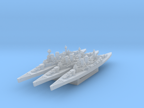 HMS Hood (Axis & Allies) in Smooth Fine Detail Plastic