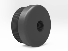 AM-013 and 014 Suppressor Cap Replacement.  in Black PA12