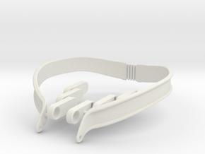 Slaving Collar (SW:NEGW&T) in White Natural Versatile Plastic: Medium
