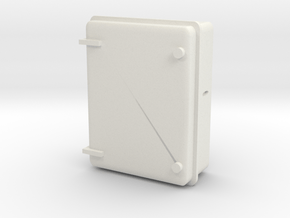 Wall Electrical Cabinet 1/24 in White Natural Versatile Plastic