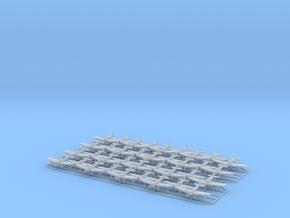 1:450 IJN D3A1 Val (18x), A6M2 Zero (12x), and B5N in Smooth Fine Detail Plastic