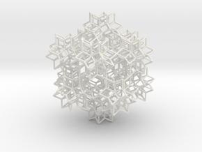rhombic hexecontahedra, 20 in White Natural Versatile Plastic