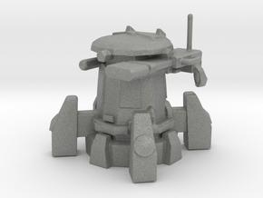 Tau Sentry Turret Epic Scale 30mm Gun miniature in Gray PA12