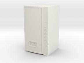 Soda Vending Machine 1/64 in White Natural Versatile Plastic