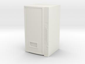Soda Vending Machine 1/48 in White Natural Versatile Plastic