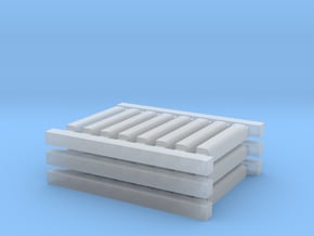 '1-50' Scale - Bullnose in Smooth Fine Detail Plastic