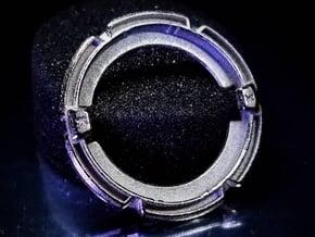 GT-17 Klank Frame [K] in Polished Nickel Steel