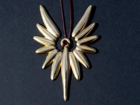 Angel in Polished Brass