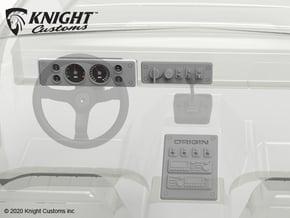 VP10001 Origin Instrument panels in Smooth Fine Detail Plastic