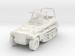 Sdkfz 250/3 A Greif 1/100 in White Natural Versatile Plastic
