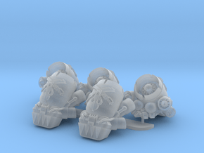 Sons of the Hunt- Gryphus Jetpacks (PM) in Smooth Fine Detail Plastic: Medium