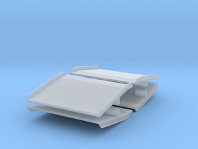 Warehouse Dock Board (x4) 1/76 in Smooth Fine Detail Plastic