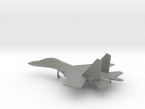 Sukhoi Su-30 Flanker-C in Gray PA12: 6mm