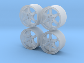 1/24 - 17'' RAYS Volk TE37SL, model wheel (male) in Smoothest Fine Detail Plastic