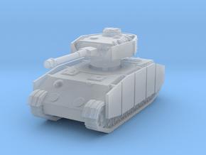 Panzer IV K (Schurzen) 1/144 in Smooth Fine Detail Plastic