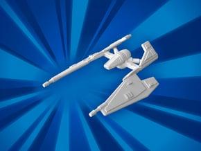 (MMch) Sith Starfighter in White Natural Versatile Plastic