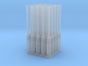 Laser (x25) in Smooth Fine Detail Plastic