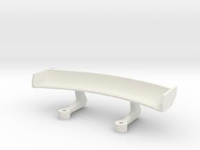 Kyosho Mclaren P1 GTR Wing Version 2 in White Natural Versatile Plastic
