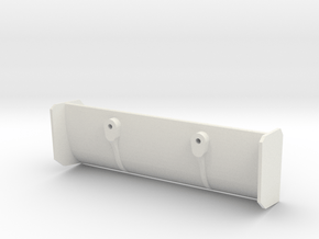 Jomurema GT01 Wing 3mm stand-offs in White Natural Versatile Plastic