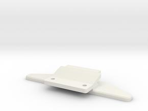 Jomurema GT01 Front Clip for BM001 in White Natural Versatile Plastic