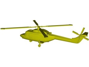 1/192 scale Westland Lynx Mk 95 helicopter x 1 in Smoothest Fine Detail Plastic