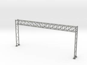 HO Scale Sign Gantry 171mm in Gray PA12