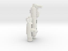 Seeker Gun - VF-1 Style in White Natural Versatile Plastic