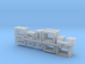Cargo x10 cube-curve in Smoothest Fine Detail Plastic: 1:400