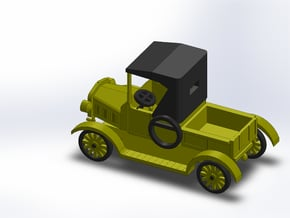 1925 MODEL T PICKUP in Smooth Fine Detail Plastic