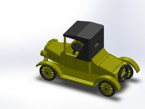 1925 MODEL T ROADSTER in Smooth Fine Detail Plastic