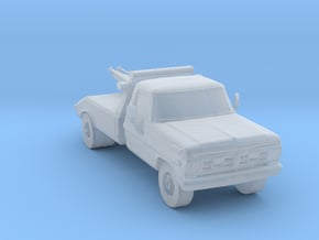 80's Wrecker 1:160 Scale in Smooth Fine Detail Plastic