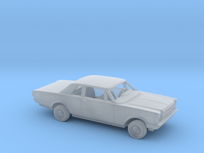 1/160 1966 Ford Galaxie 500 Custom 2 Door Kit in Smoothest Fine Detail Plastic