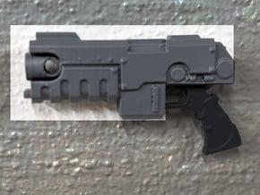 PRHI Large Heavy Pistol- Body in Black PA12