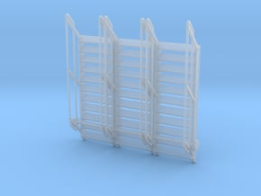 1:64 3x Stairs 11 in Smooth Fine Detail Plastic