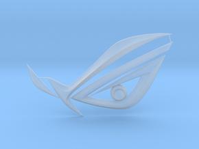 Computer Case Logo - ASUS ROG EYE V0 in Smooth Fine Detail Plastic