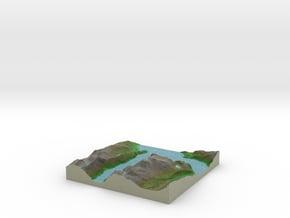 Terrafab generated model Tue Aug 05 2014 17:42:56  in Full Color Sandstone