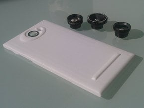 The Other Side Magnetic Lens for Jolla phone in White Processed Versatile Plastic