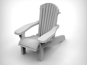 Chair 14. 1:64  Scale (S) x5 units in Smooth Fine Detail Plastic