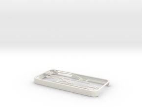Hong Kong MTR map Iphone 5s case in White Natural Versatile Plastic