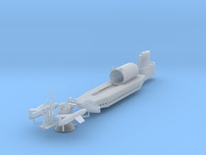 USS Tunny SSG-282 1/350 scale in Smooth Fine Detail Plastic