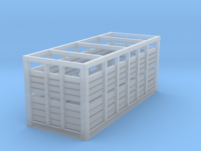 VR N Scale MC Container - Single in Smooth Fine Detail Plastic