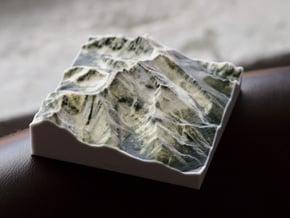 Borah Peak, Idaho, USA, 1:50000 in Natural Full Color Sandstone